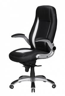 Drehstuhl Bürostuhl Chefsessel BUFFALO -Schwarz - Vorschau 4