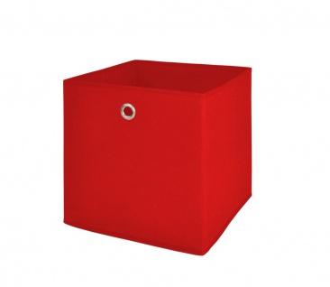 Faltbox Box Fotobox- Delta 1- Rot Größe: 32 x 32 cm