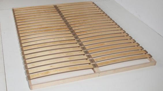 Lattenrost mit Mittesteg BERN 200x200 cm - 2 x 20 Leisten