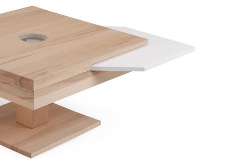 Couchtisch Tisch MADOX Kernbuche Massivholz 80x80 cm - Vorschau 2