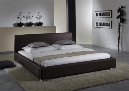 Polsterbett Bett Doppelbett Tagesbett - COSIMO - 200x200 cm Braun