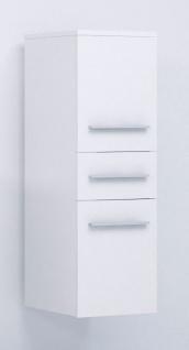 Badmöbel Set 5-Tlg Weiss matt LIVO XS inkl.Waschtisch - Vorschau 4