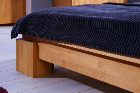 Massivholzbett Bett Schlafzimmerbet MAISON Buche massiv 180x200 cm - Vorschau 3