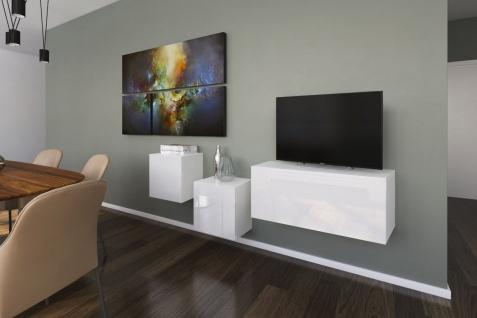 mediawand wohnwand 3 tlg nexi 5 weiss hochglanz kaufen bei sylwia lesniewska fun m bel. Black Bedroom Furniture Sets. Home Design Ideas