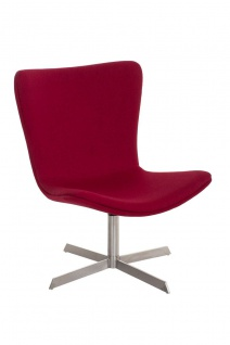 Sessel Coctailsessel Lounger - Andreas - in modernem Design in Rot