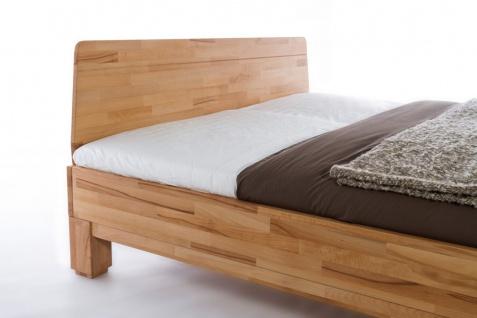 Massivholzbett Schlafzimmerbett - IVO - Bett Kernbuche 160x200 cm - Vorschau 2