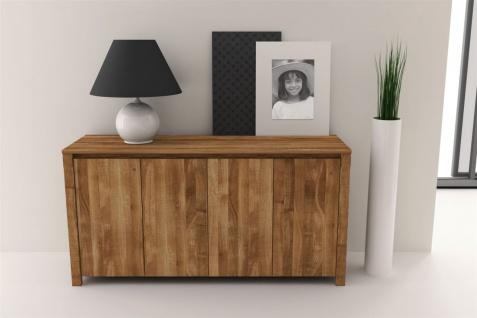 Sideboard Kommode MAISON Wildeiche massiv geölt 150x77x45 cm