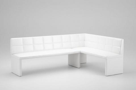 eckbank wei g nstig sicher kaufen bei yatego. Black Bedroom Furniture Sets. Home Design Ideas