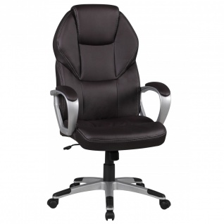 Drehstuhl Bürostuhl Chefsessel TAMPA -Braun