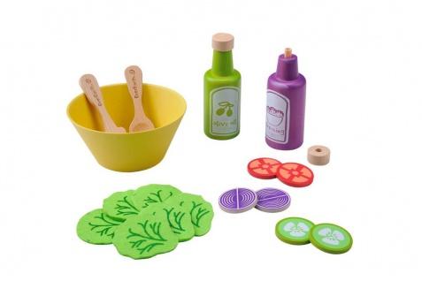 Holzspielzeug - Salatset