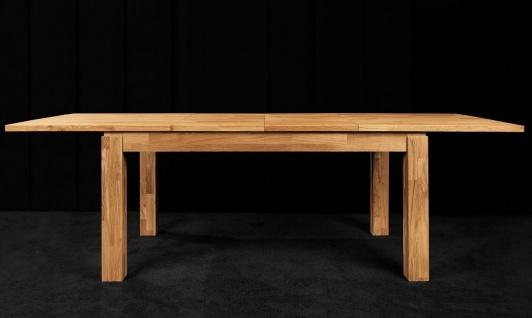 Esstisch Tisch ausziehbar MAISON Kernbuche massiv geölt 200/290x100 cm - Vorschau 3