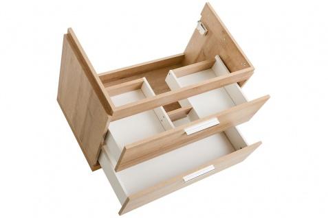 Badmöbel 3-tlg Badezimmerset WENDO Eiche inkl.Waschtisch 60cm - Vorschau 4