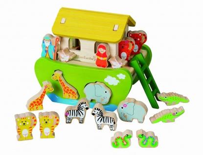 Holzspielzeug - Arche Noah zum Sortieren und Stecken - Vorschau 1