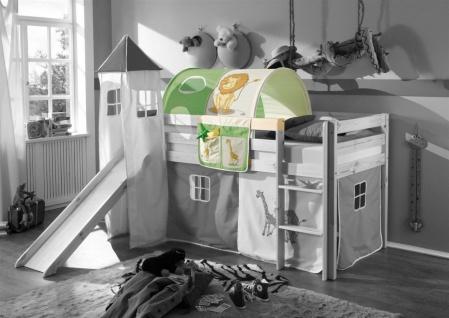 Tunnel DSCHUNGEL für Spielbett Hochbett Etagenbett +Tasche