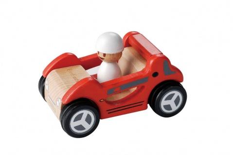 Holzspielzeug - Roter Sportwagen
