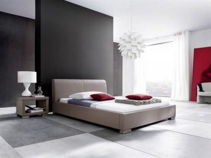 Polsterbett Bett Doppelbett Tagesbett - COSIMO - 180x200 cm Muddy