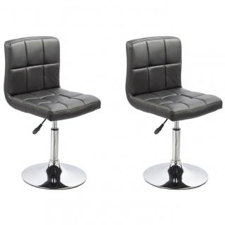 Esszimmerstühle Stuhle Küchenstuhl 2er Set - Bari - Schwarz
