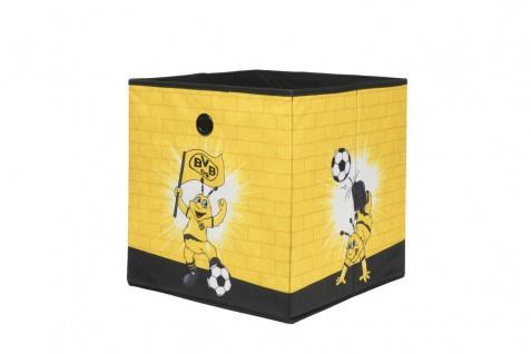 Faltbox Box - BVB 09 / Nr.3 - 32 x 32 cm