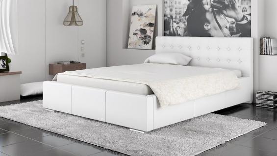 Polsterbett Bett Doppelbett GIANO XS 160x200cm inkl.Lattenrost