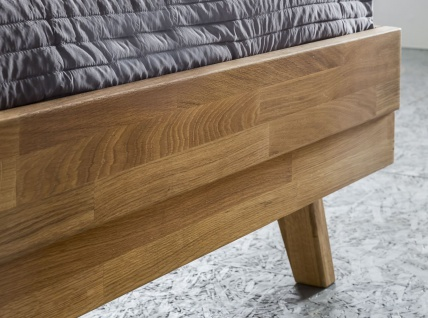 Massivholzbett Schlafzimmerbett - VIA - Bett Wildeiche 180x200 cm - Vorschau 4