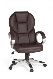 Drehstuhl Bürostuhl Chefsessel FERROL -Braun
