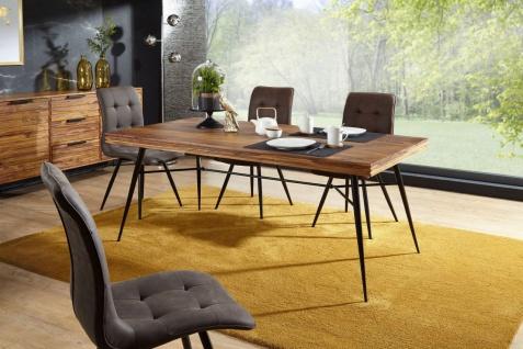 Esszimmertisch Tisch RANGA 200x100x77 cm Massivholz Sheesham