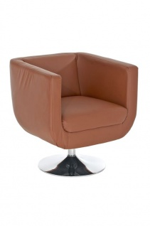 Sessel Coctailsessel Lounger - Colo - in trend Design in Cognac