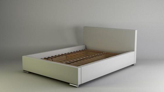 Polsterbett Bett Doppelbett GIORGIO XS 160x200cm inkl.Lattenrost - Vorschau 2