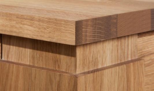 Esstisch Tisch MAISON Wildeiche massiv geölt 130x90 cm - Vorschau 3