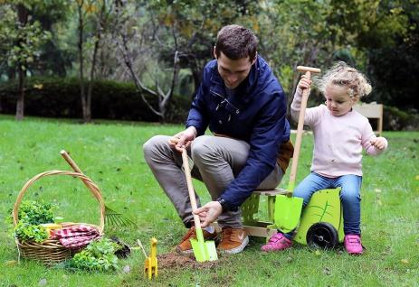 Holzspielzeug - Gartentasche mit Gartengeräten und Giesskanne - Vorschau 3