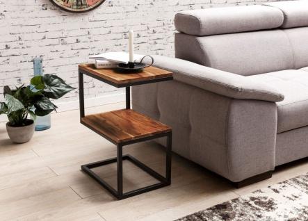 Beistelltisch Tisch BIMA 45x30x60 cm Sheesham Landhaus Massivholz