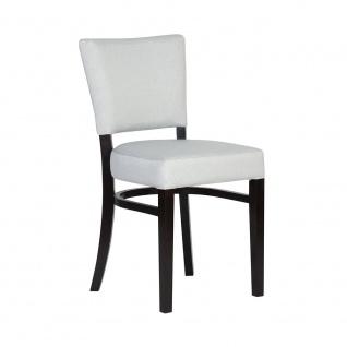 Polsterstuhl Stuhl 2er Set TONI Massivholz Buche