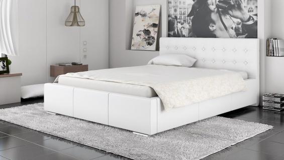 Polsterbett Bett Doppelbett GIANO 180x200cm inkl.Bettkasten