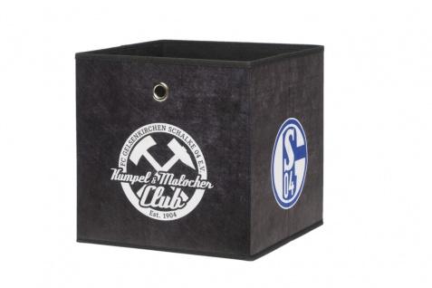 Faltbox Box - FC Schalke / Nr.3 - 32 x 32 cm - Vorschau 1