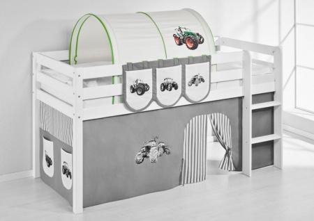 Tunnel Trecker Grün - für Hochbett. Spielbett und Etagenbett