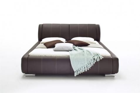 Polsterbett Bett Doppelbett Tagesbett - LIMA - 180x200 cm Braun - Vorschau 5