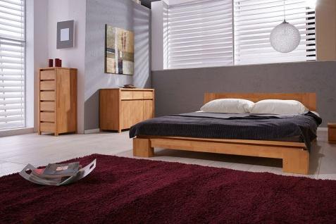 Massivholzbett Bett Schlafzimmerbet MAISON Buche massiv 120x200 cm - Vorschau 4