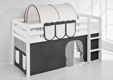 Tunnel Braun Beige - für Hochbett, Spielbett und Etagenbett