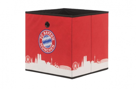 Faltbox Box - FC Bayern / Nr.2 - 32 x 32 cm / 3er Set