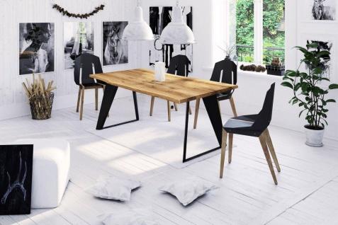 Esstisch Tisch JETTA Wildeiche geölt 160x90 cm