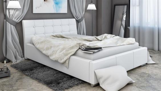 Polsterbett Bett Doppelbett PINO 160x200cm inkl.Bettkasten