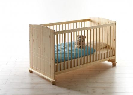 Babyzimmer Set NIKLAS in Kiefer Natur 5-tlg - Vorschau 2