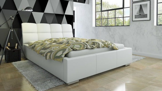 Polsterbett Bett Doppelbett CATELLO XS 180x200cm inkl.Lattenrost