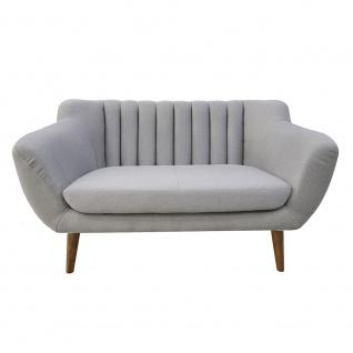Polstersofa Sofa 3-Sitzer ALICE Massivholz Buche