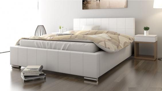 Polsterbett Bett Doppelbett GIORGIO XS 160x200cm inkl.Lattenrost - Vorschau 1