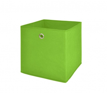 Faltbox Box Stoffbox- Delta - Größe: 32 x 32 cm / 3er Set - Grün