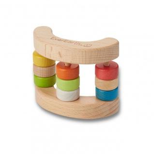 Holzspielzeug - Rassel-Spielzeug Wippe