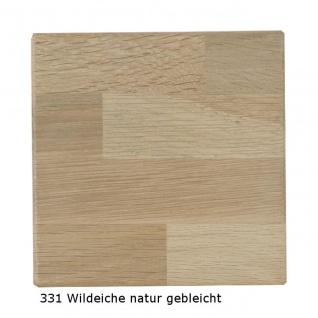 Couchtisch Tisch NIELS Wildeiche vollmassiv /Echtholz 110 x 70 cm - Vorschau 4