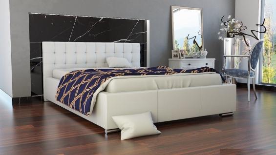 Polsterbett Bett Doppelbett MANILO 160x200cm inkl.Bettkasten
