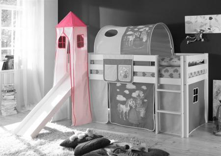 Turm PRINZESSIN/ PINK für Spielbett Hochbett Etagenbett
